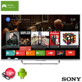 Smart TV 3D Sony LED Full HD 50' com Android TV, Motionflow XR 960 Hz e Wi-Fi - KDL-50W805C