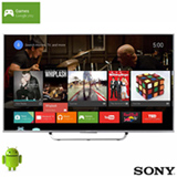 Smart TV 4K Sony LED 49' com Android TV, Motionflow 960 Hz e Wi-Fi - XBR-49X835C