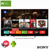 "Smart TV 4K 3D Sony LED 65"" com Android TV, X-Reality Pro 4K e Wi-Fi - XBR-65X855C"