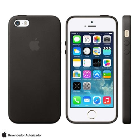 Imagem para Capa Apple para iPhone 5s e SE Preto MF045BZ/A a partir de Fast Shop