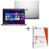 "Notebook Dell, Intel Core i7-4510U, 16GB, 1TB, Tela 14"", AMD Radeon HD R7 M265 - i14-5447-A40 + Microsoft Office 365"