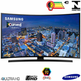 Smart TV 4K Samsung Curva LED 55 com Funcao Game e Wi-Fi - UN55JU6700GXZD